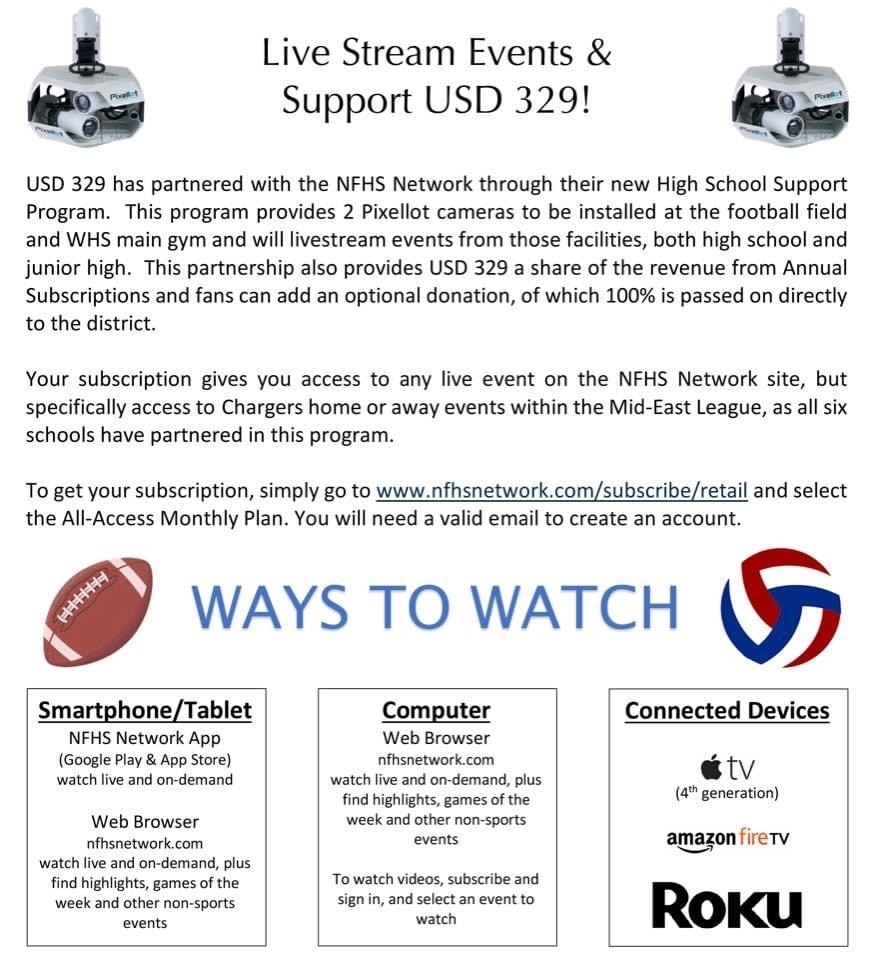 Live Stream Events & Support USD 329