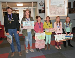 Wabaunsee County Conservation District Poster Contest Winners