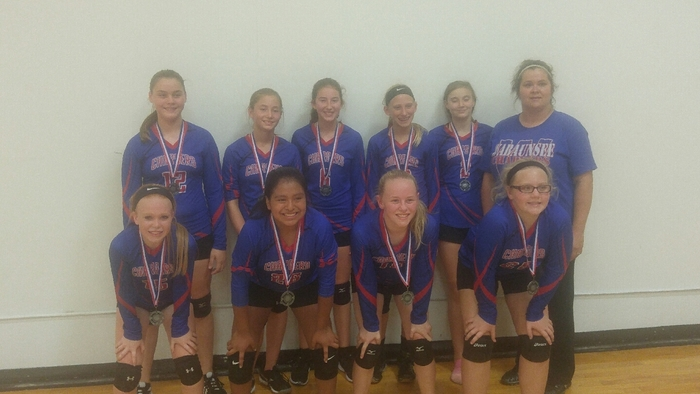 7th Grade Girls Volleyball Team