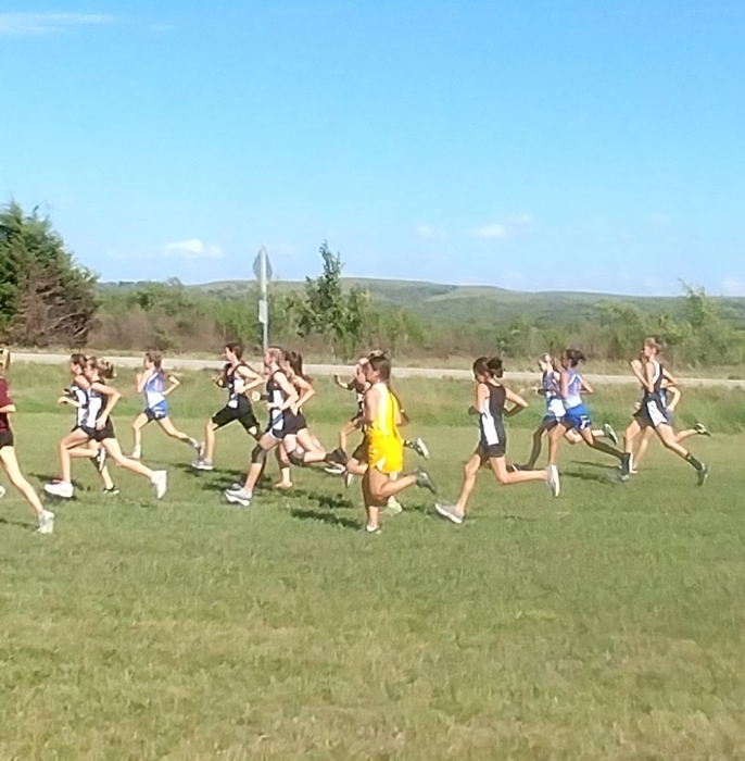 Junior High girls are off!
