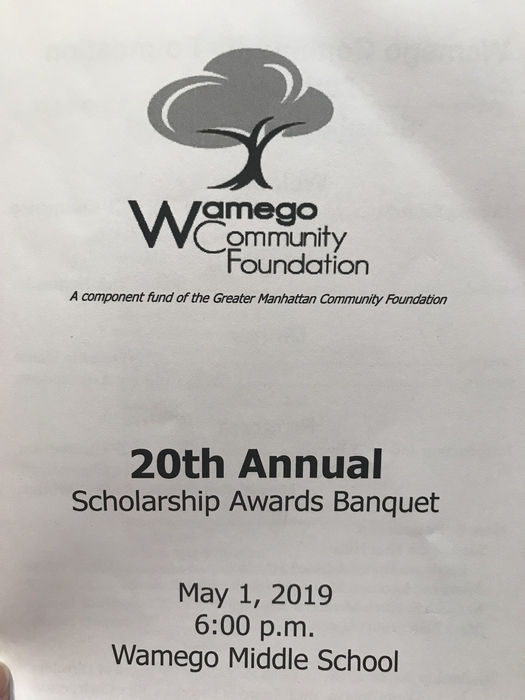 Wamego Scholarship night!