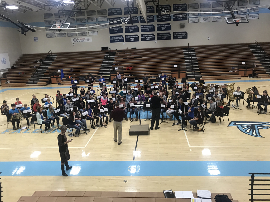 League junior high honor band!