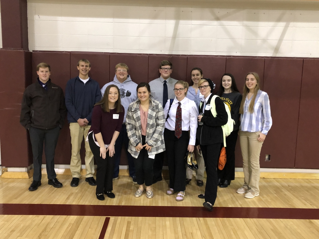 District FBLA conference at Herington