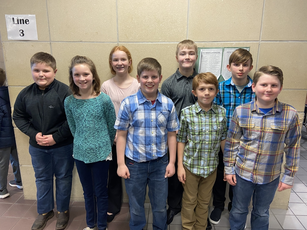 5th and 6th graders at the KMEA north central district elementary honor choir, Junction City middle school.