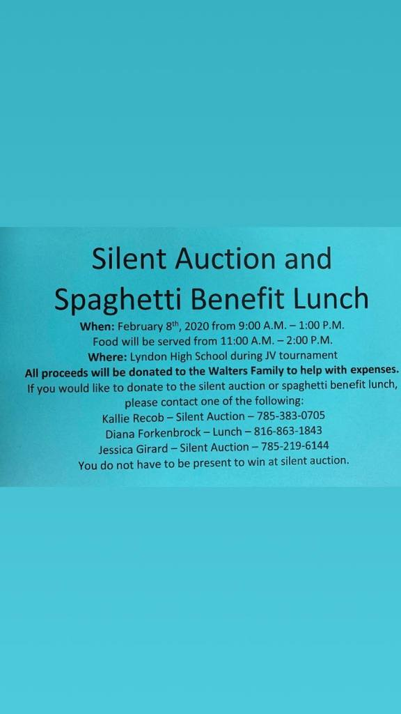 Silent Auction and Spaghetti Lunch