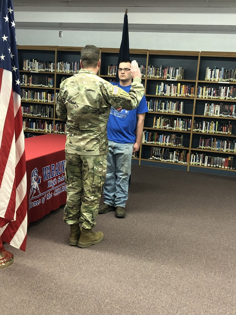 Frank sworn in to the Army Guard