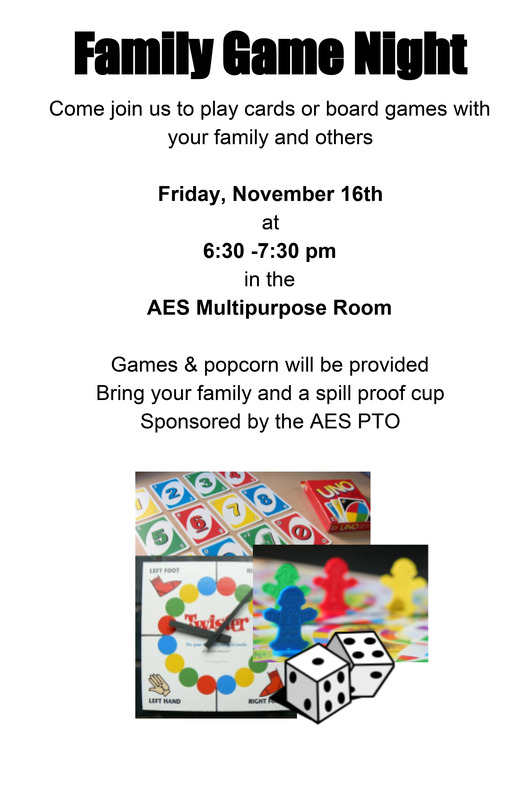 AES PTO Game Night
